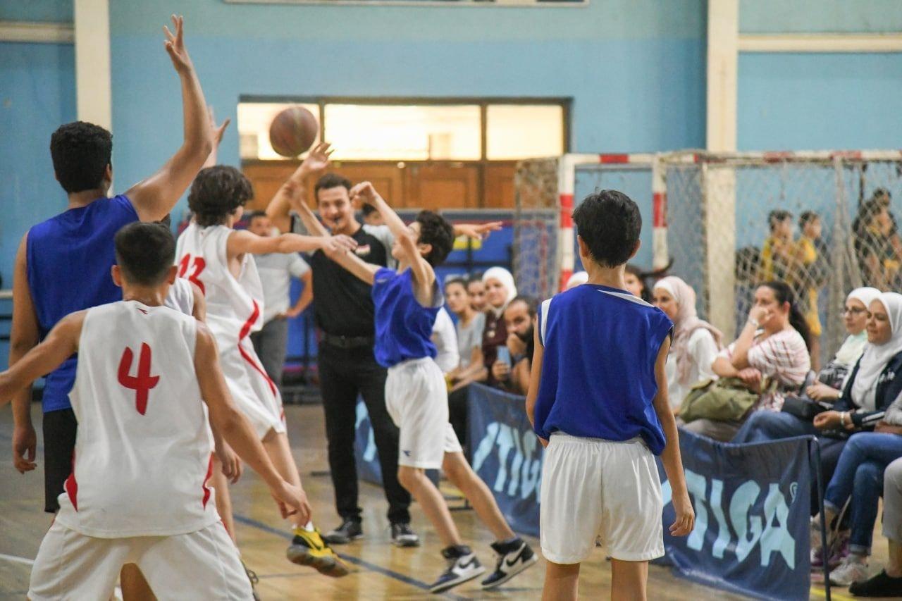 أشبالنا وشبلاتنا في بطولة دمشق بكرة السلة